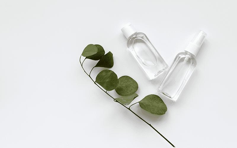Hand Sanitizer Bottles & Closures